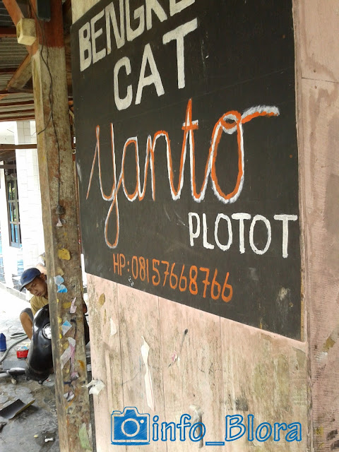"Bengkel Cat ""Yanto"" Plotot"