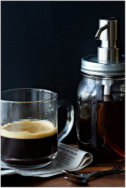 Vanilla syrup for coffee