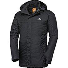 Nordcap Herren Funktionsjacke in Schwarz, hochwertige Herren-Bekleidung, ultraleichte Herrenjacke, federleichte Outdoor-Jacke, winddicht & atmungsaktiv (Größe: 48 - 60)