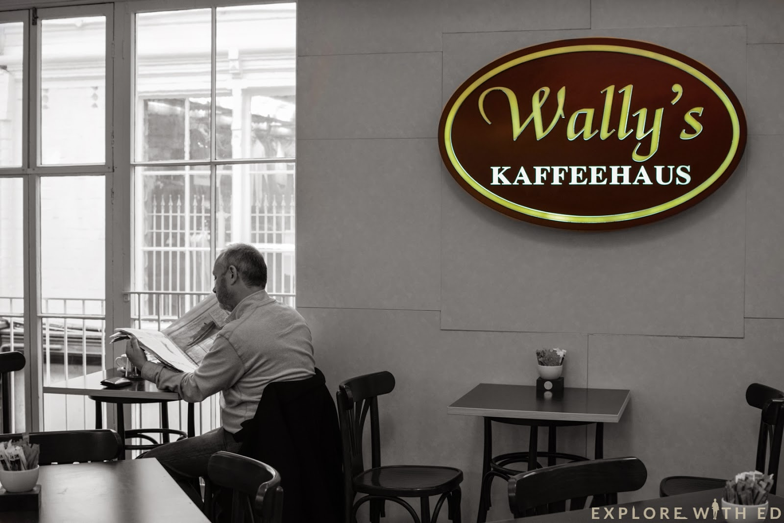 Wally's Kaffeehaus Interior