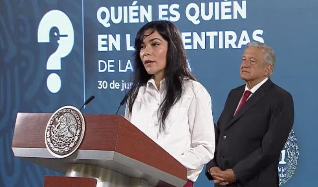 """Inicia Presidencia """"Quién es quién en las mentiras de la semana"""""""