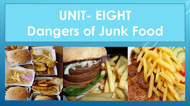 Solution of Class Eight (VIII) English | Unit- Eight | Dangers of Junk Food