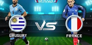 اوفسايد360 مباراة فرنسا واوروجواي بث مباشر اليوم الجمعة 6-7-2018 دور الـ 8 في بطولة كأس العالم