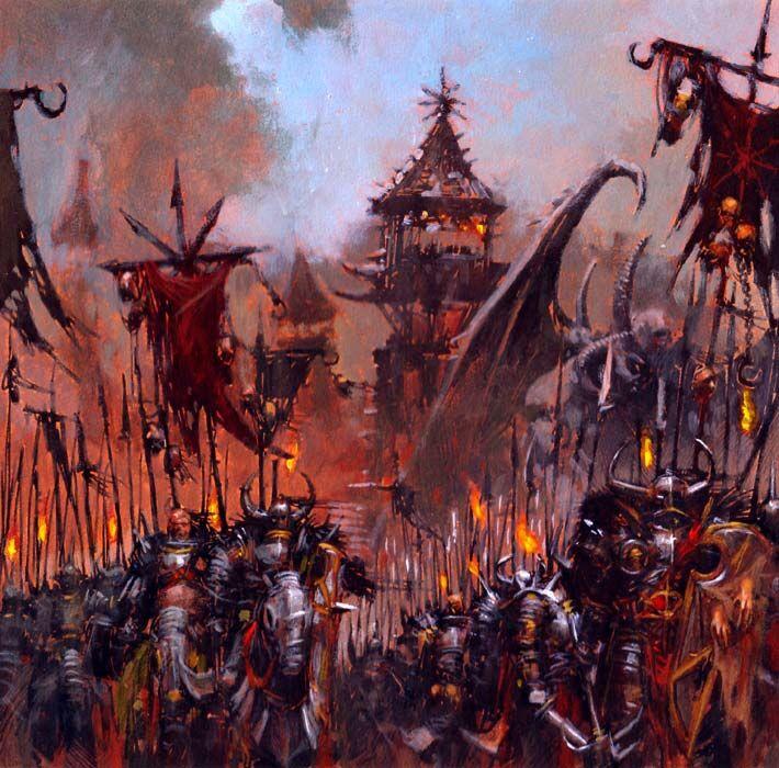 Relato - La Venganza de Lar'es - Ejército Caos