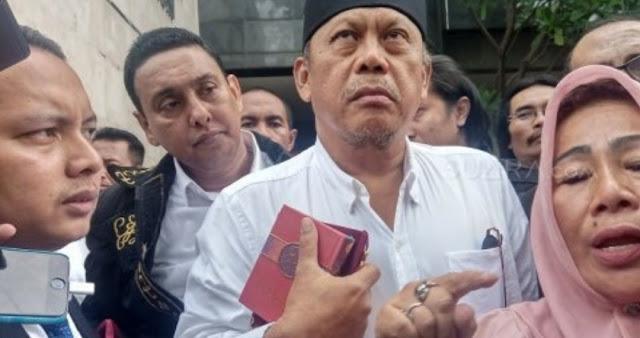 Eggi Sudjana Minta Jokowi Perintahkan Kapolri Agar Dirinya Tidak Ditahan