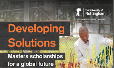 Deadline extended: 105 Developing Solutions Masters Scholarships for African 2018