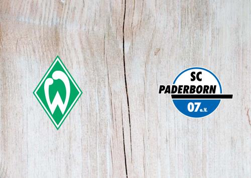 Werder Bremen vs Paderborn -Highlights 8 December 2019
