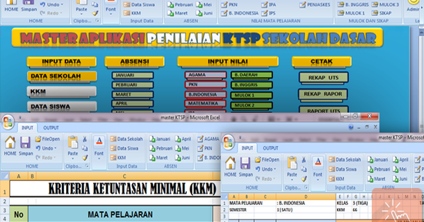 Download Aplikasi Penilaian Kurikulum 2013 Terbaru