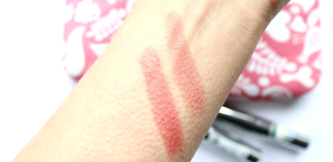 Lavera Brilliant Care Lipsticks - Review & Swatches