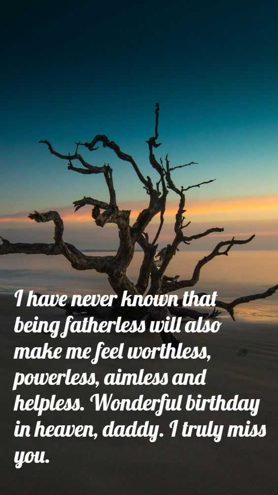 Happy birthday in heaven dad Quotes, Images, Poem & Pictures