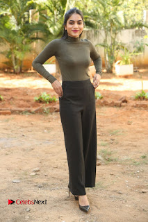 Tollywood Actress Punarnavi Bhupalam Latest Po Gallery in Black Trouser Pant at Pittagoda Movie Interview  0173.JPG