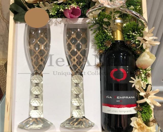 Swarovski Wine Glass Hampers