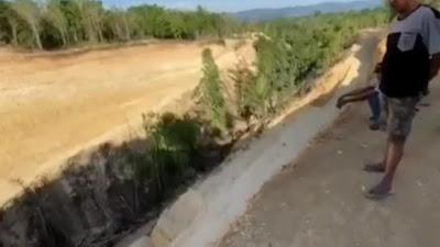 Pembangunan Bendung dan Irigasi di Bone Disorot, Lokasi Tak Sesuai Proposal