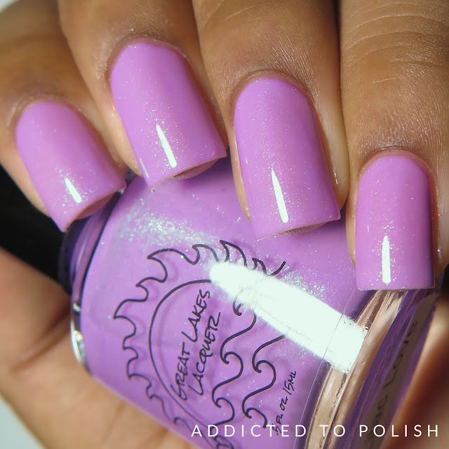 great lakes lacquer lilac love april 2016 limited editions