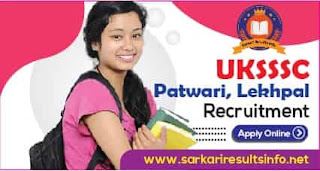 Uttarakhand UKSSSC Patwari, Lekhpal
