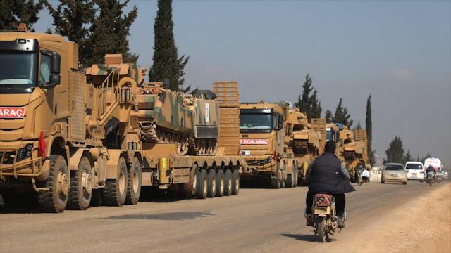 Siria urge a OTAN y UE a condenar invasión de Turquía en Idlib