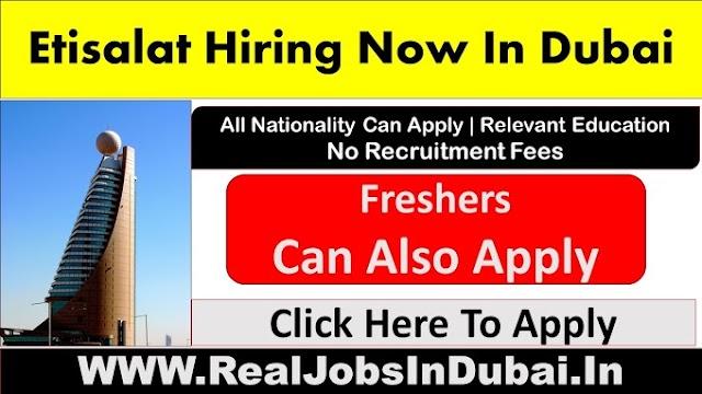 Etisalat Careers Jobs Available In UAE
