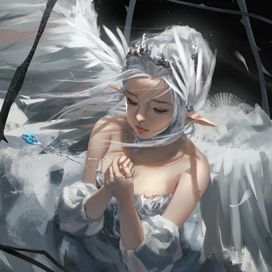 Fantasy Angel Woman Wallpaper Engine