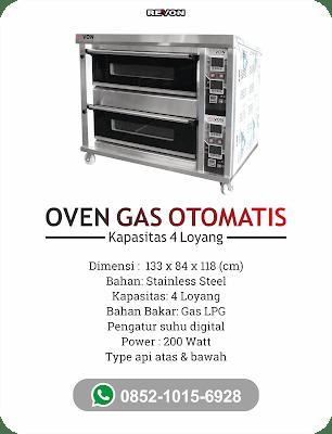 Oven Gas Otomatis Murah & Bergaransi