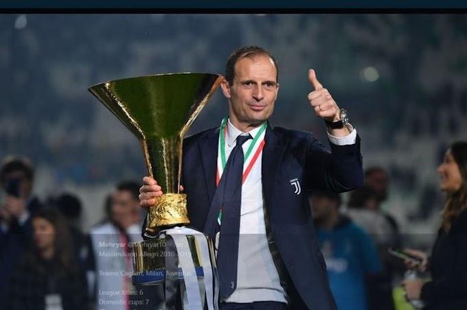 Rentetan Hasil Buruk buat Juventus Berencana Menunjuk Ulang Allegri