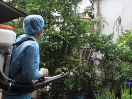 Phun muỗi tại huyện Chương Mỹ