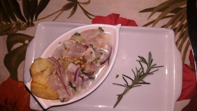 Festival sabores de Cabo Frio - Borogodó Bistrô - Ceviche da Severina (Severitche)