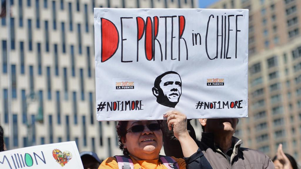 Obama was the US president who deported and separated families and nobody said anything
