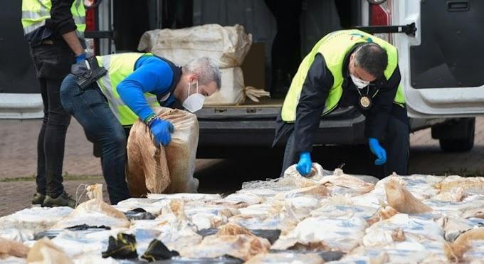 Confiscan en Bélgica 350 kilos de cocaína enviados desde RD en avión  en medio de la pandemia