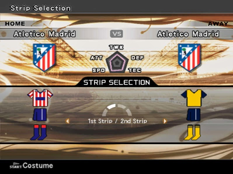 Download Option File Update Pemain PES 6 Agustus 2014