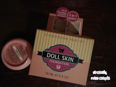 SendayuTinggi Doll Skin Foundation