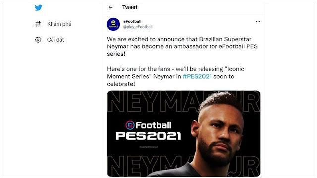 Cầu thủ nào sẽ đại diện cho eFootball 2022?