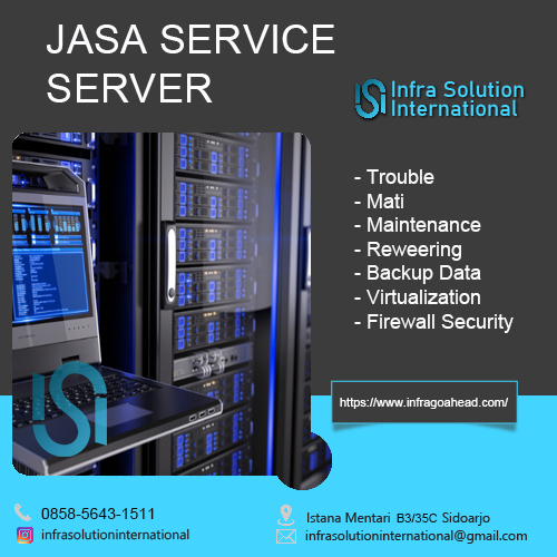 Jasa Service Server Manado