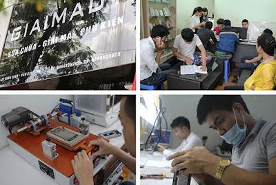 Thay mặt kính theo một quy trình chuẩn chất lượng tại Thành Hưng