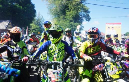 Rider Mengaku Puas, Ikut Event Trail Adventure 2017 Di Selayar