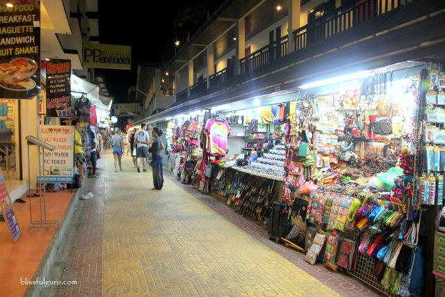 Shops Koh Phi Phi Thailand
