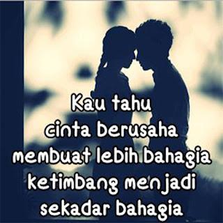 Bahagia bersama cinta