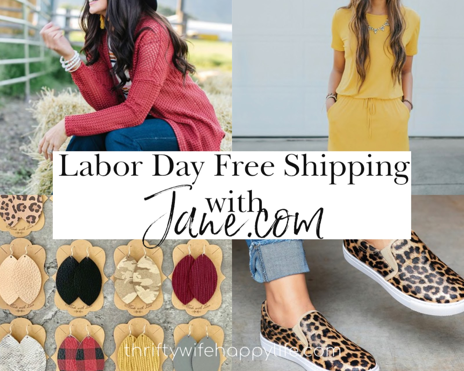Labor Day Free Shipping Event with Jane.com