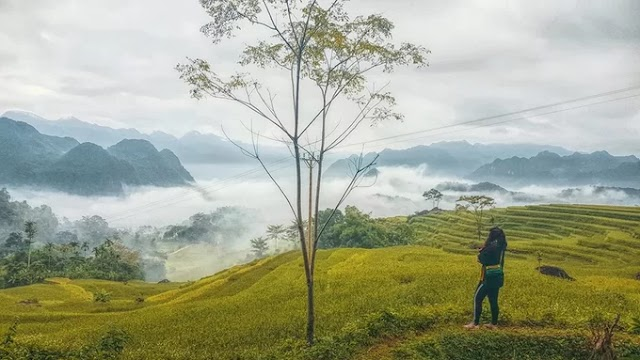 Pu Luong - A place of clouds passing through a rice valley