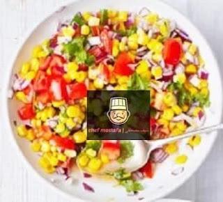 Apple and Sweet Corn Salad
