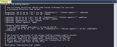 configure file httpd