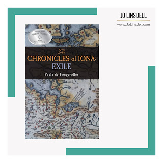 Book Spotlight The Chronicles of Iona Exile by Paula de Fougerolles #TheWriteReads #BlogTour #TheChroniclesOfIona