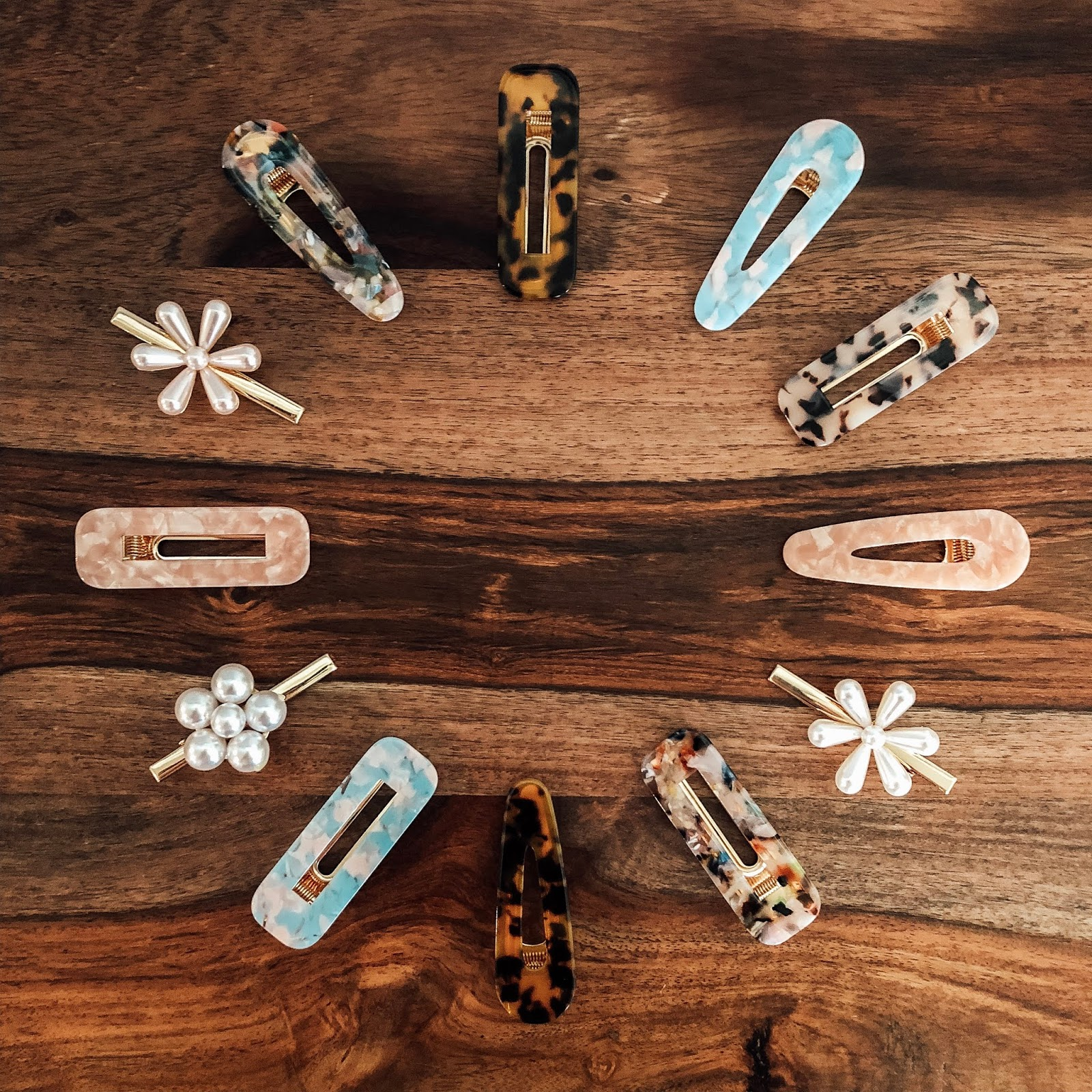 Affordable and trendy hair clips