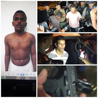 Bandidos acusados de matar sargento, dentro de quartel do corpo de bombeiros são presos na Paraíba