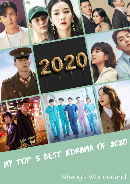 My Top 5 Best Kdrama for 2020