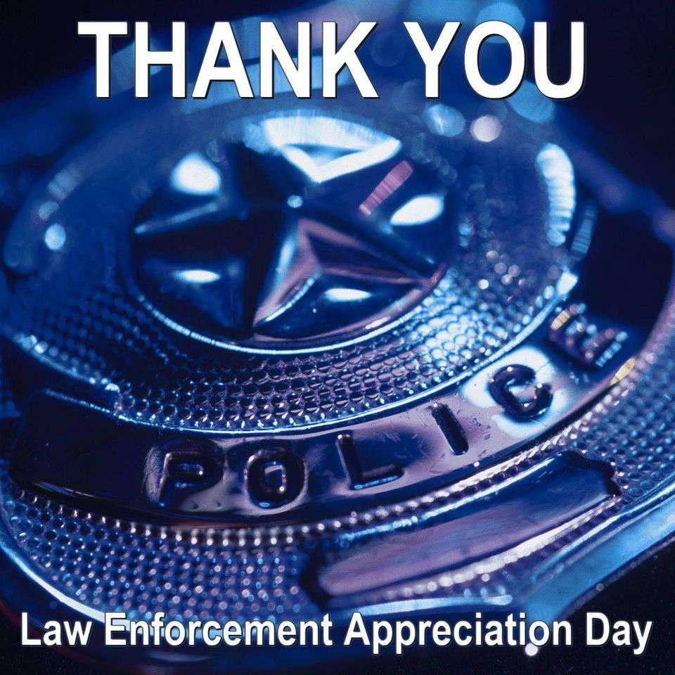 National Law Enforcement Appreciation Day Wishes Unique Image