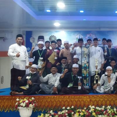Dayah MUDI Raih Juara Umum Di MQK Santri Dayah II Kabupaten Bireuen