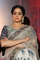Sri Devi in designer saree stunning beauty at the launch of MOM movie Trailer~  Exclusive 099.JPG