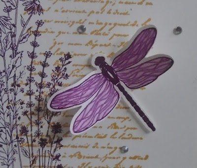 Craftyduckydoodah, Dragonfly Garden, Stampin' Up,