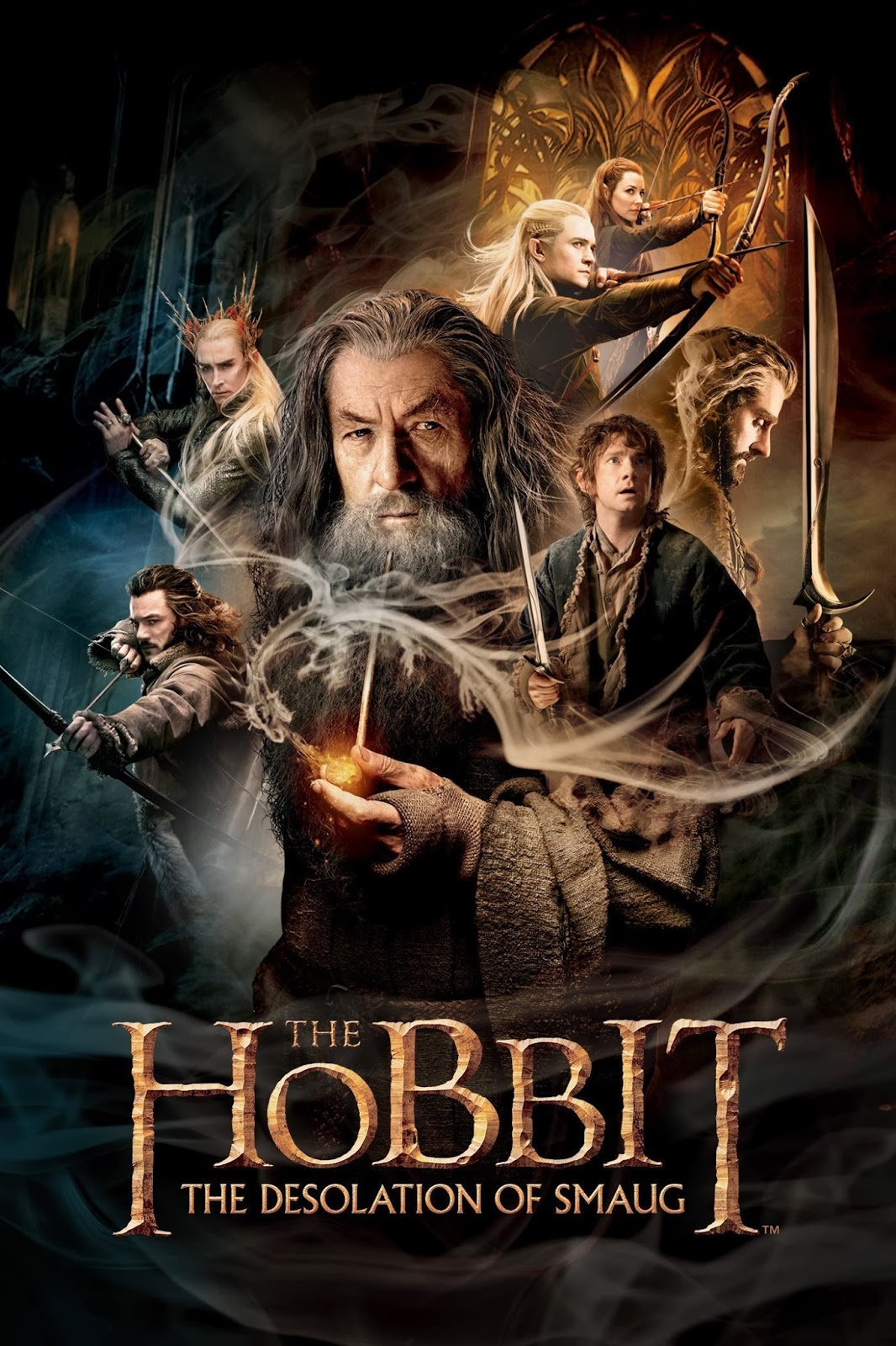 The Hobbit: The Desolation of Smaug (2013) DVDScr 700MB