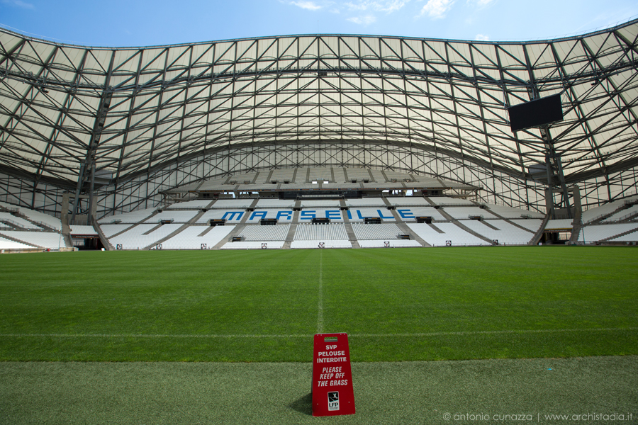 stade velodrome marsiglia architettura interno